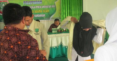 Pelepasan Mahasiswa KKN Angkatan XVII Tahun 2016