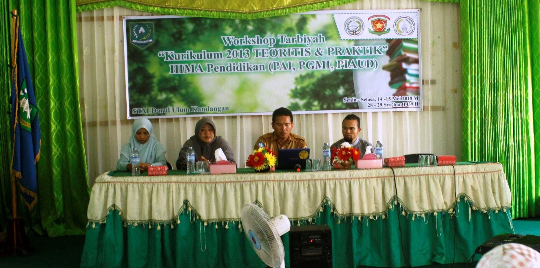"Workshop Kurikulum 2013 "" Teoritis dan Praktis"""