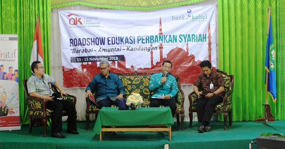 Roadshow To Campus OJK Regional IX Kalimantan