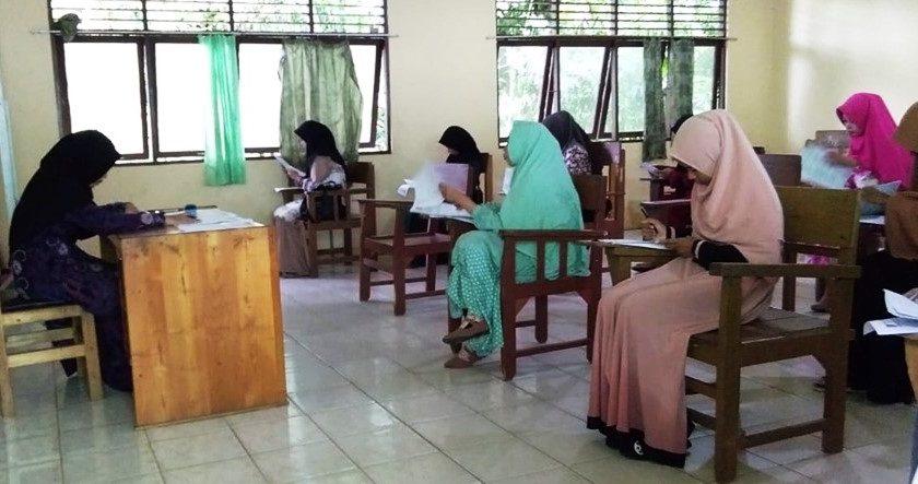Seleksi Tertulis Mahasiswa/i Baru Gelombang I Tahun Akademik 2019/2020.