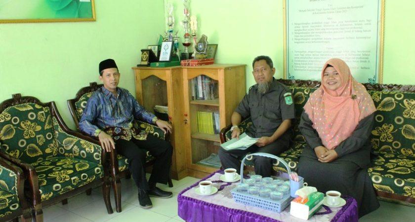 Kunjungan Sekretaris Kopertais XI Kalimantan