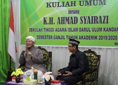Kuliah Umum Semester Ganjil Tahun Akademik 2019/2020 Bersama Tuan Guru Haji Ahmad Syairazi