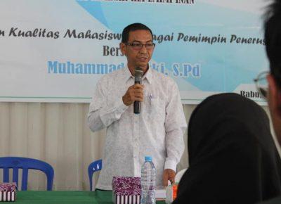 Ketua STAI Darul Ulum Kandangan Melantik Kepengurusan DEMA dan SEMA