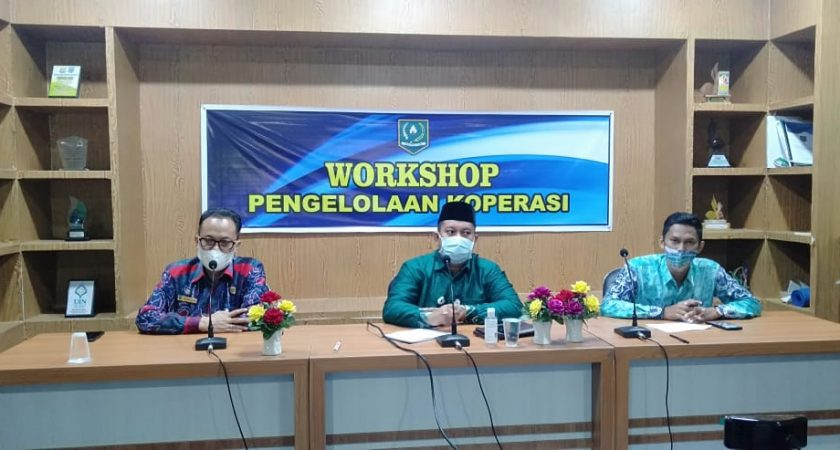 UPKK Adakan Workshop Pengelolaan Koperasi